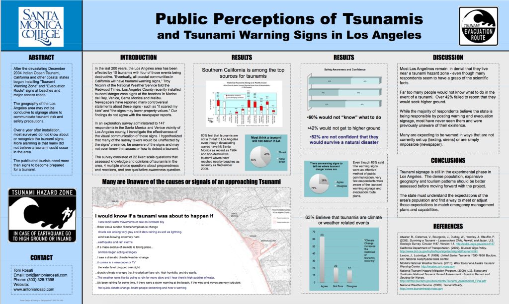 first tsunami poster